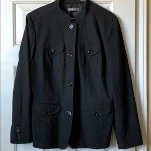 Liz Claiborne Black Utility Jacket / Blazer in EUC